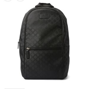 GG GUCCISSIMA  MONOGRAM BACKPACK